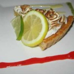 tarte au citron tropical