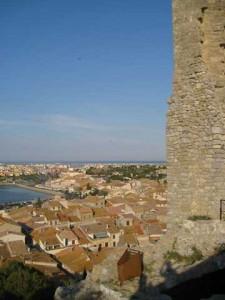 Depuis le château de Gruissan