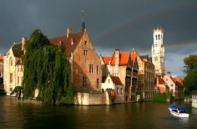 Bruges, les canaux