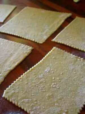 Pâtes maison à la farine complète