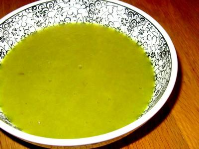 Soupe aux c tes de blettes et aux poireaux - Cuisiner des cotes de blettes ...