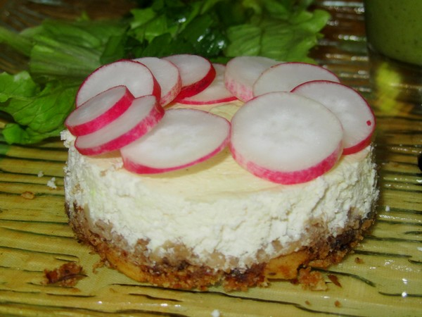 cheesecake-chevre-radis
