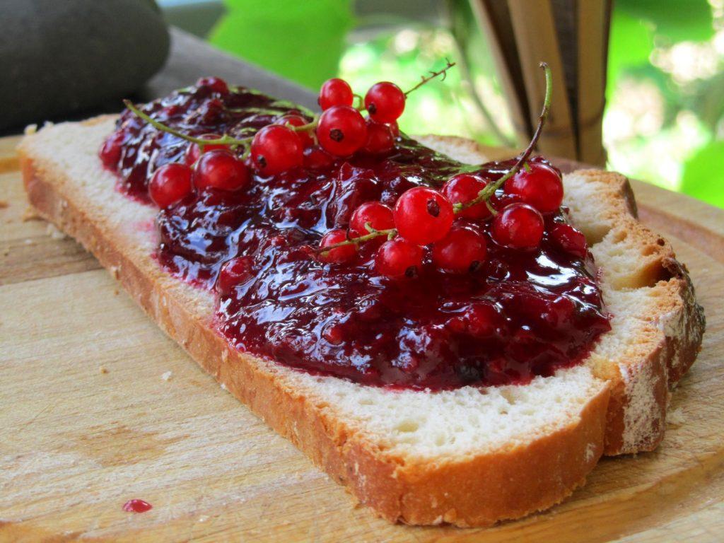 Fouace aux fruits rouges ramassés dans l'Aveyron