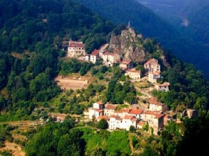 Le village perché cathare d'Hautpoul