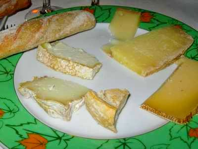 Charriot de fromages de chez Betty