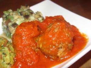 Boulettes de canard sauce tomate