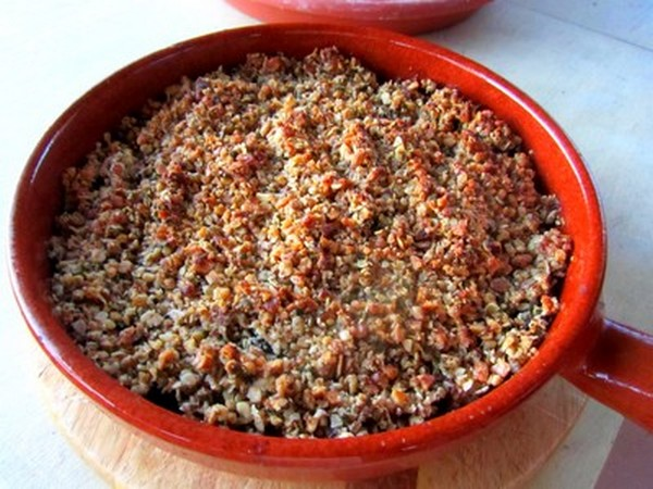 crumble-courgettes