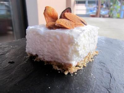 cheesecake salé à l'ail de Lomagne