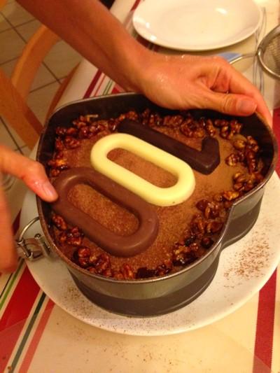 Gateau chocolat noisette chataigne