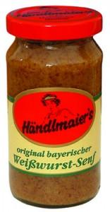 Moutarde allemande sucrée
