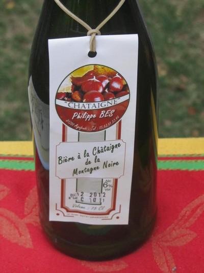 Bière chataigne Tarn