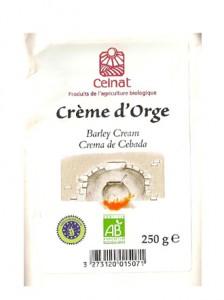 crème d'orge