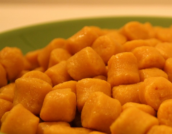 Gnocchi potimarron ch taigne - Cuisiner des gnocchis ...