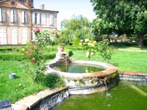 Parc du château de Larra