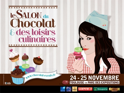 Le salon du chocolat toulouse 2012 gourmandise sans frontieres - Salon du tatouage toulouse ...