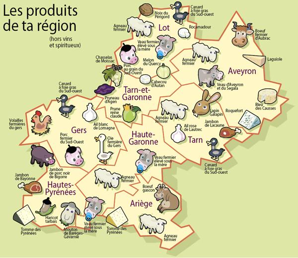 Le terroir d 39 occitanie r gion gourmande et locavore - Arte la cuisine des terroirs ...