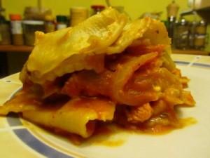 lasagne chèvre dinde
