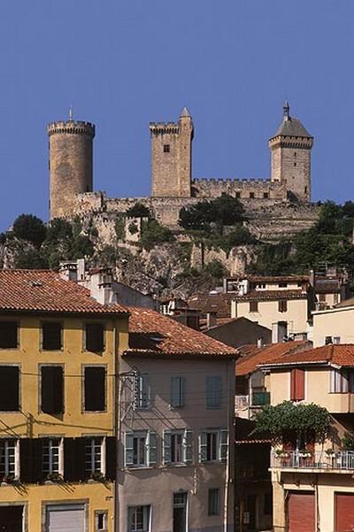 Chateau de Foix, Ariège