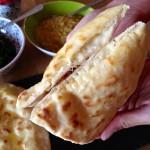 Cheese naan revisité