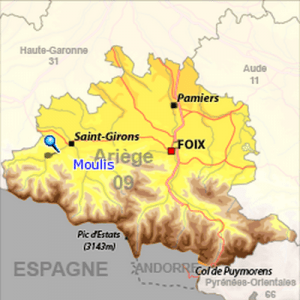 Moulis dans le Couserans, Ariège, Pyrénées