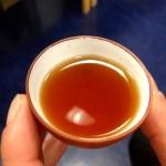 Dégustation de thé noir