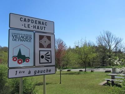 Village de Capdenac dans le Lot