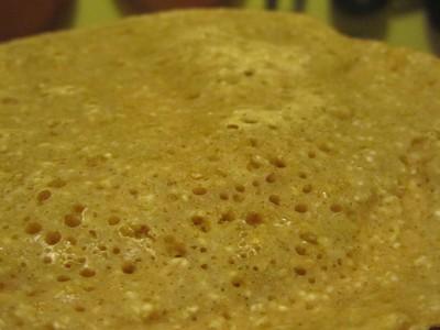 galette pain sans levure orge