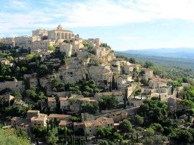 Souvenir de vacances à Gordes, dans le Vaucluse (84)