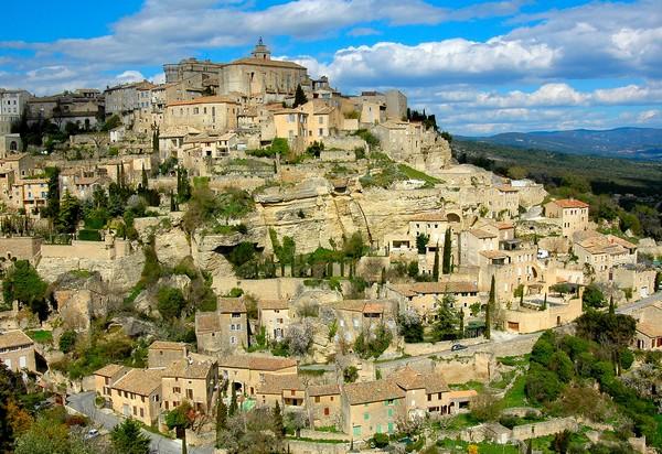 Souvenir de vacances à Gordes, dans le Lubéron, Vaucluse (84)