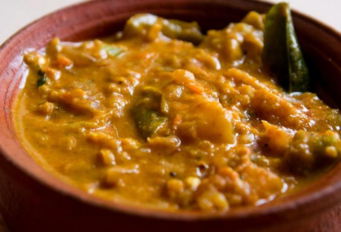 Un bon curry mijoté