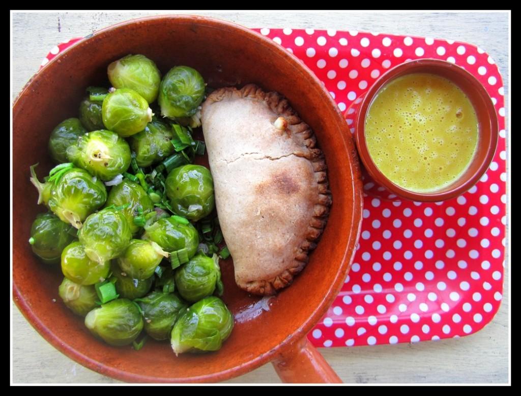 Petit repas végétarien improvisé