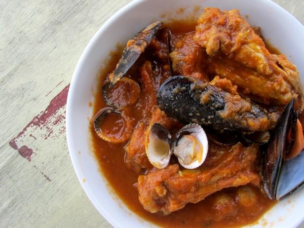 poulet-coques-moules
