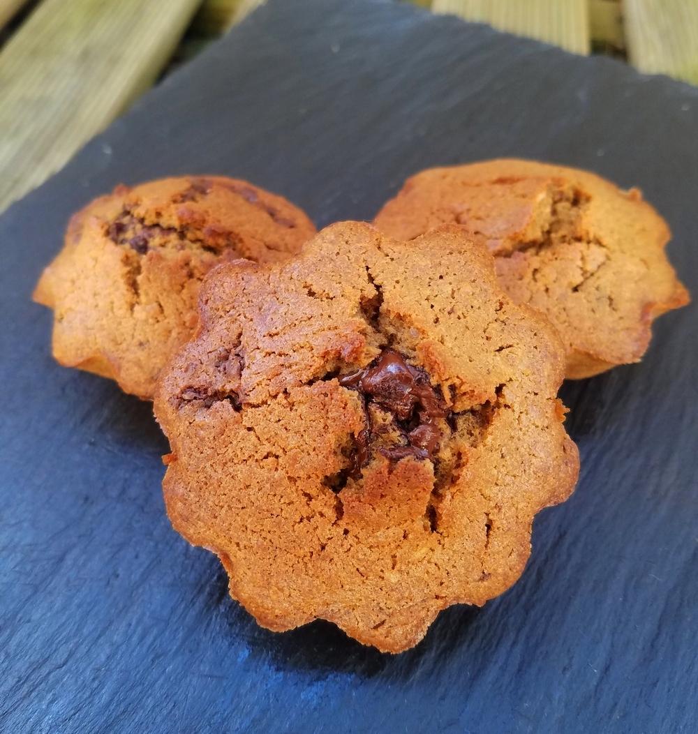 Muffins coco chocolat