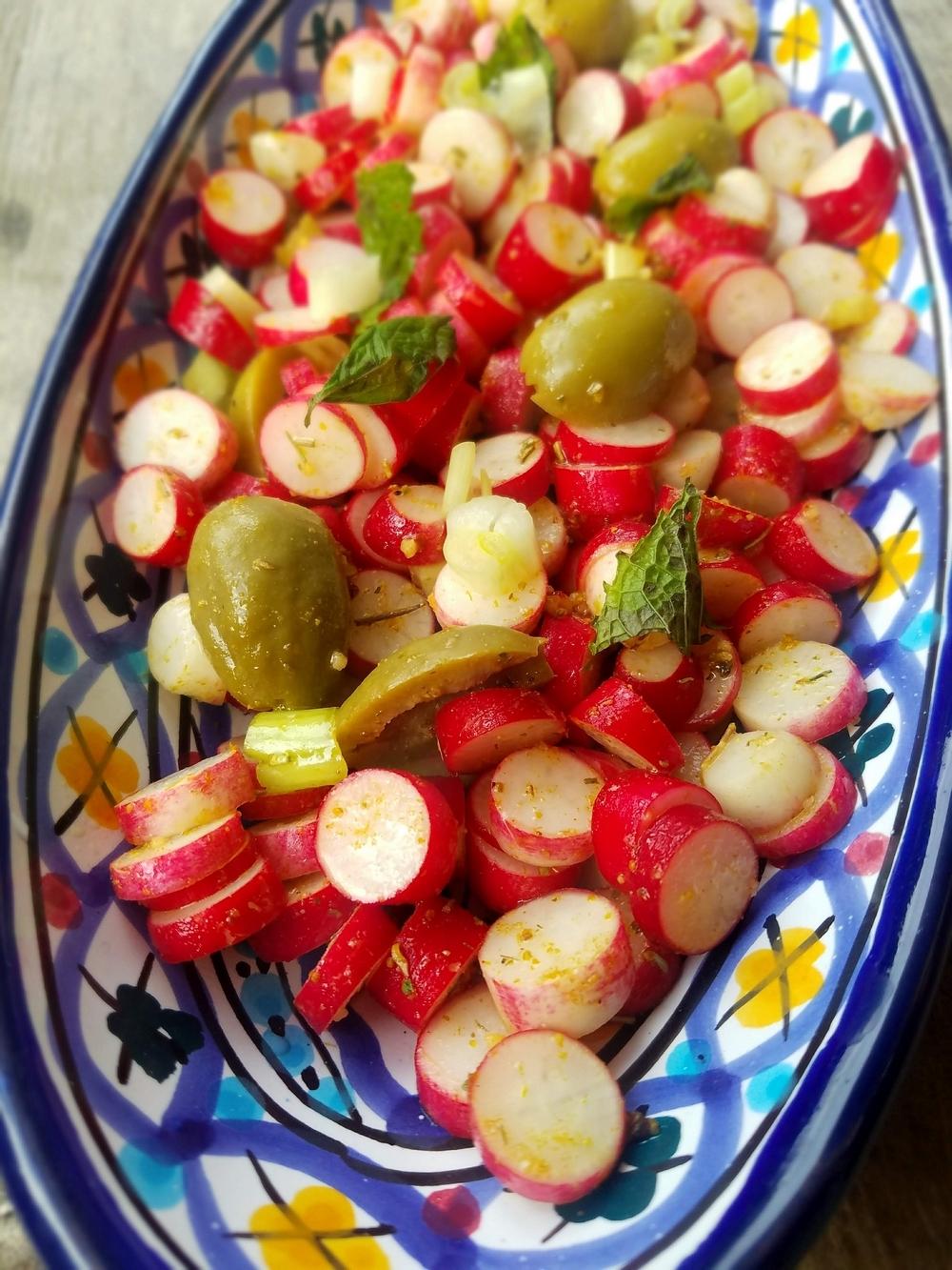 Salade de radis tunisienne