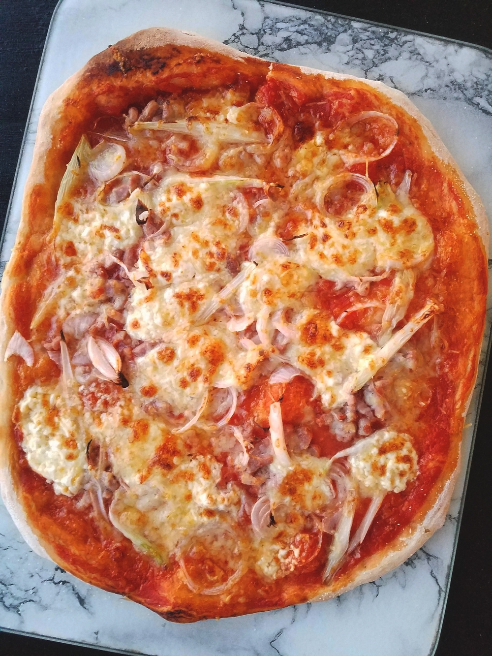 Pizza de Franche-Comté