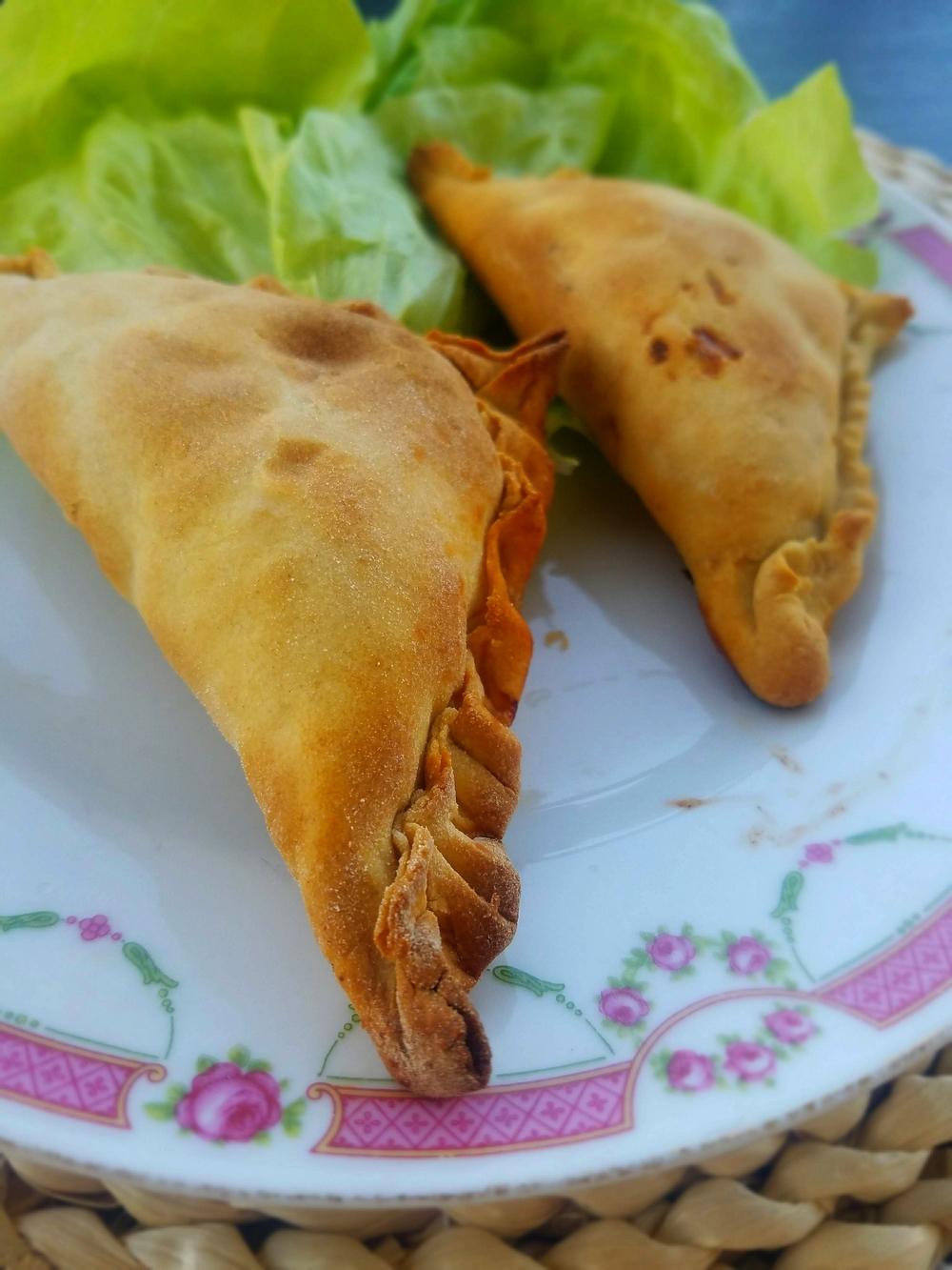 Samsa d'Ouzbékistan à la viande et oignons