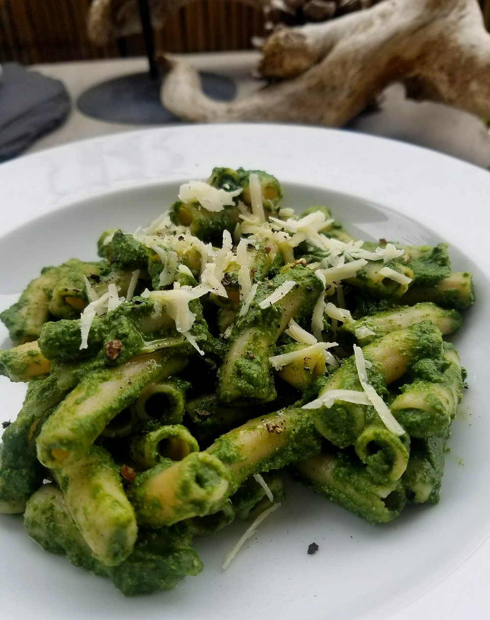 Pesto orties noix brebis