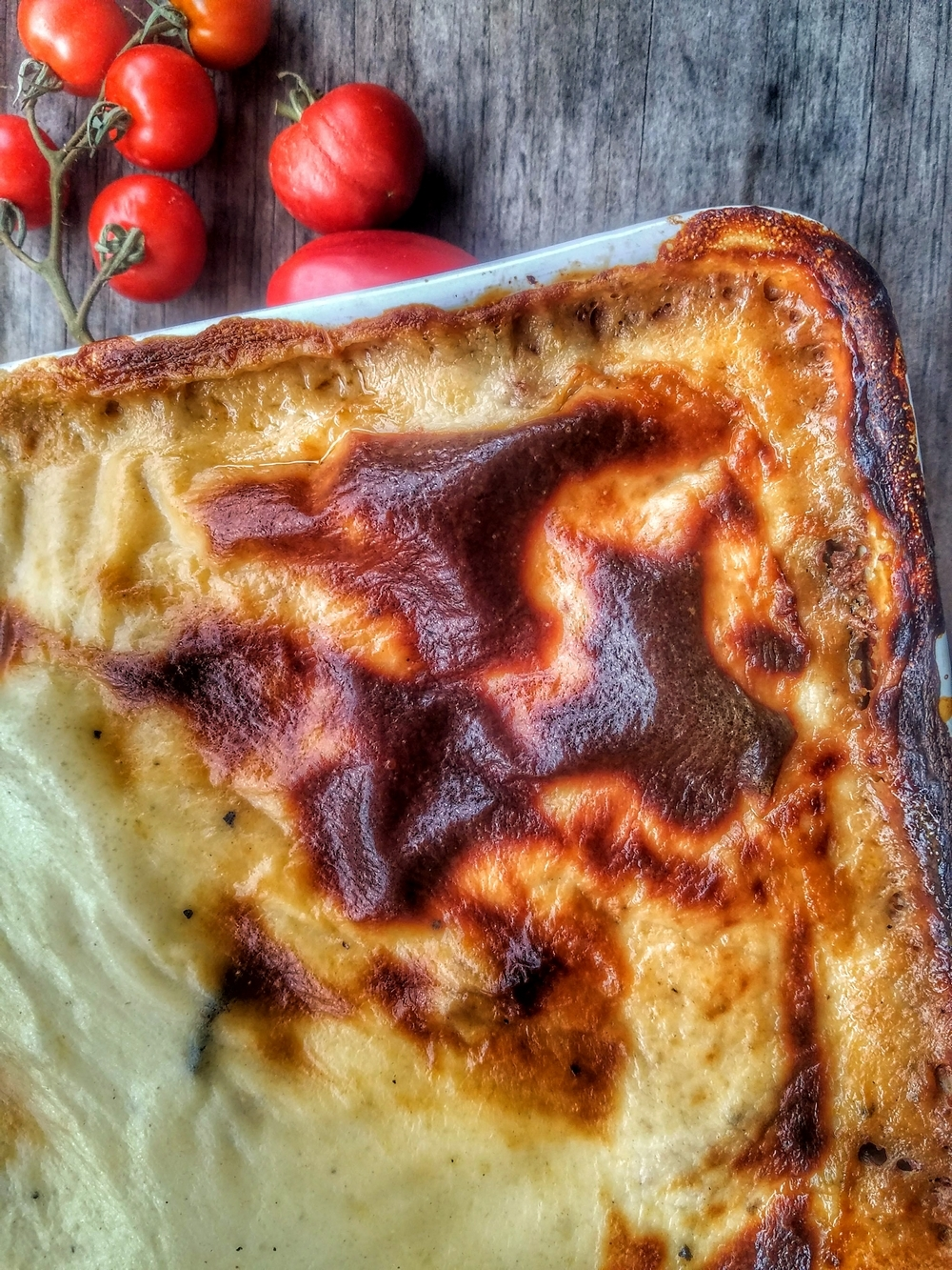 Moussaka traditionnelle pommes de terre