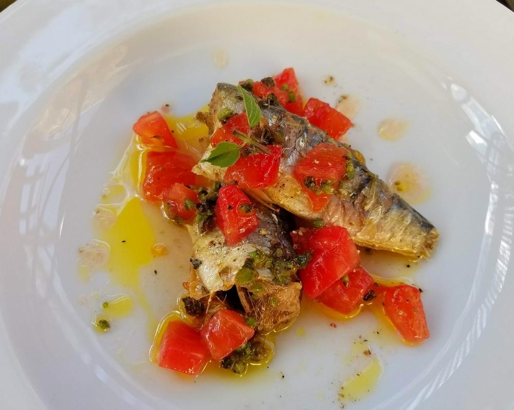 sardines sauce vierge tomates basilic citron