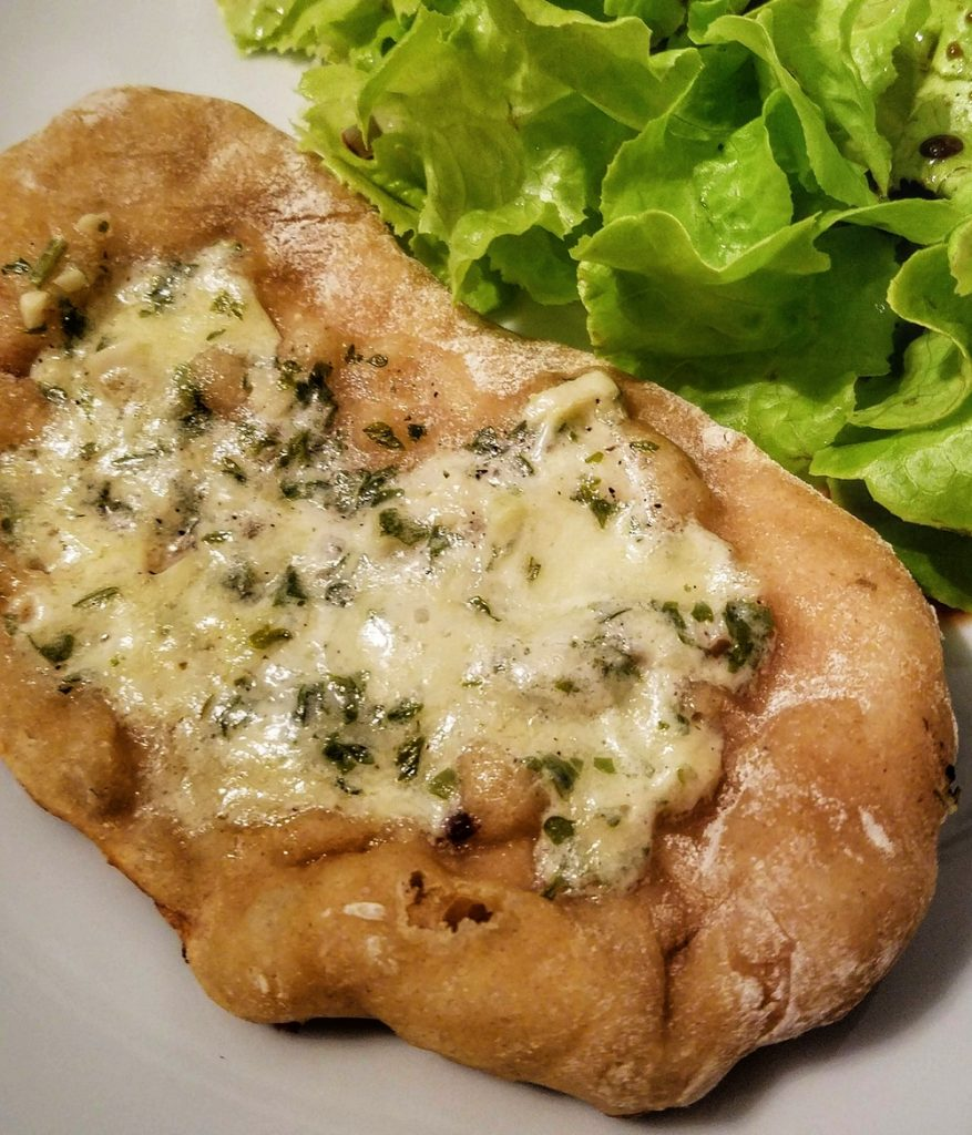 Pain à l'ail (garlic bread)