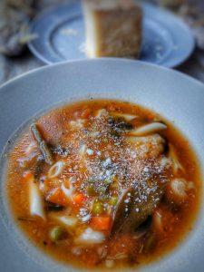 Minestrone, la soupe italienne