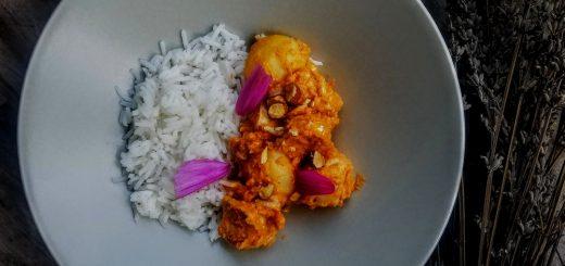 curry massaman de Thaïlande