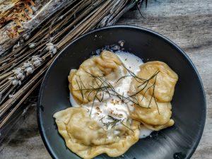 Raviolis de Lituanie aux champignons