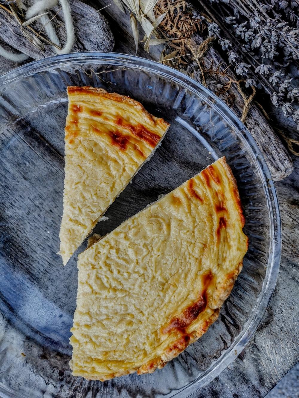 Recette du papet jurassien, tarte à la crème