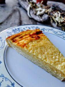 Recette du papet du Jura, tarte à la crème