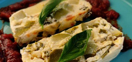 Terrine courgettes basilic